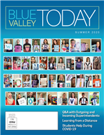 Blue Valley Today Summer 2020 cover