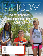 Cover of Blue Valley Today Fall 2019 issue