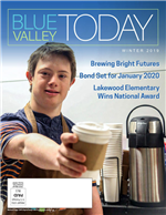 Blue Valley Today Winter 2020 Cover