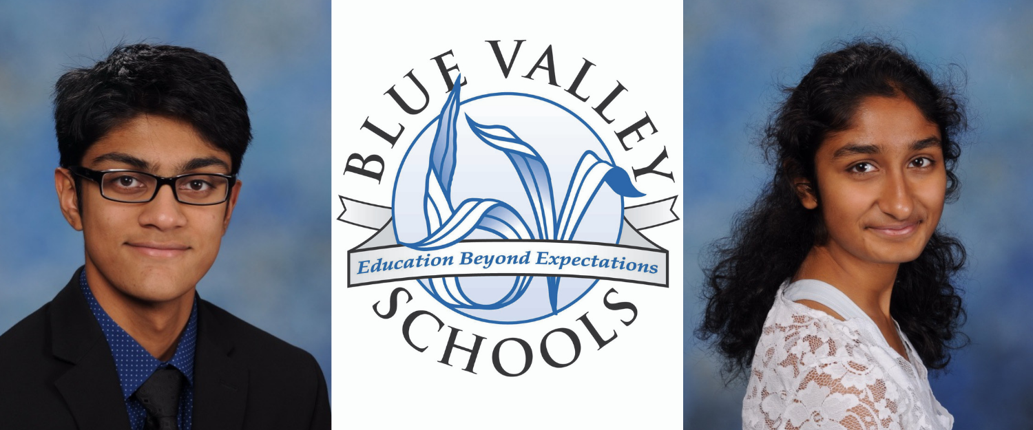Two Blue Valley seniors named U.S. Presidential Scholars