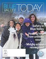Winter 2018 Blue Valley Today Cover