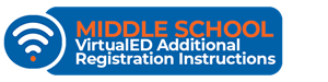 Middle School VirtualED Registration